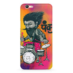Punk baba drumroll  design,  Oppo F3 Plus  printed back cover