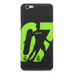 Cristiano Ronaldo 07 Footballer  design,  Oppo F3 Plus  printed back cover