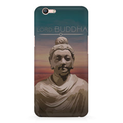 Lord Buddha peace  design,  Oppo F3 Plus  printed back cover