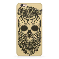 Voguish skull  design,  Oppo F3 Plus  printed back cover