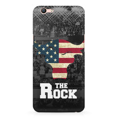 The Rock  design,  Oppo F3 Plus  printed back cover