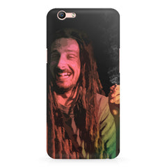Happy Pot Stoner  design,  Oppo F3 Plus  printed back cover