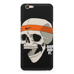Skull Funny Just Did It !  design,  Oppo R11 Plus  printed back cover