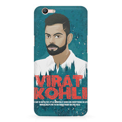 Virat Kohli Indian Cricket Team Captain Quote design,  Oppo F3 Plus  printed back cover