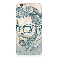 Virat Kohli Stylish Abstract Art design,  Oppo F3 Plus  printed back cover
