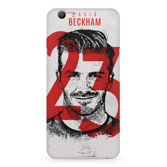 David Beckhan 23 Real Madrid design,  Oppo F3 Plus  printed back cover