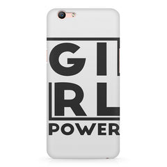 Girl power deisgn Oppo R11 Plus  printed back cover
