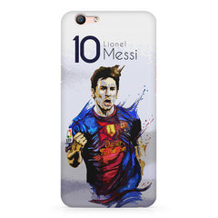 Messi design Oppo A57  printed back cover