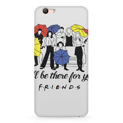 F.R.I.E.N.D.S. design Oppo F3 Plus  printed back cover