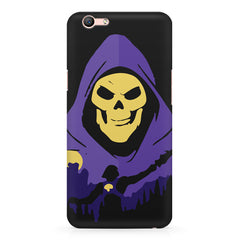 Evil looking skull design Oppo R11 Plus  printed back cover