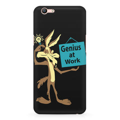 Genius at work design Oppo R11 Plus  printed back cover