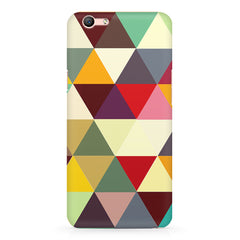 Colourful pattern design Oppo F3 Plus  printed back cover
