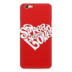 Spread some love design Oppo R11 Plus  printed back cover