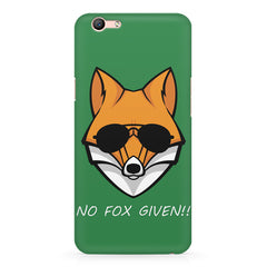 No fox given design Oppo R11 Plus  printed back cover