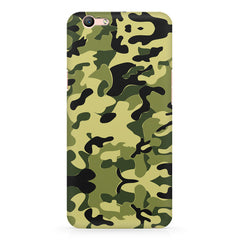 Camoflauge army color design Oppo R11 Plus  printed back cover