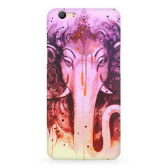 Lord Ganesha design Oppo R11 Plus  printed back cover