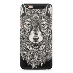 Fox illustration design Oppo R11 Plus  printed back cover