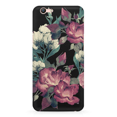 Abstract colorful flower design Oppo R11 Plus  printed back cover