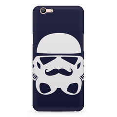 Desi Star wars design Oppo A1 all side printed hard back cover by Motivate box Oppo A1 hard plastic printed back cover.