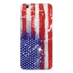 American flag design Oppo A1 all side printed hard back cover by Motivate box Oppo A1 hard plastic printed back cover.
