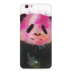 Polar Bear portrait design Oppo F3 hard plastic printed back cover