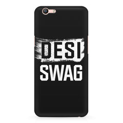 Desi Swag Oppo F3 hard plastic printed back cover