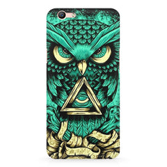Owl Art design,  Oppo A57  printed back cover