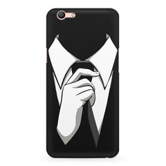 Corporate Tie design,  Oppo A57  printed back cover
