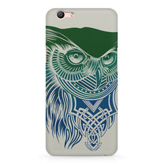 Owl Sketch design,  Oppo A57  printed back cover