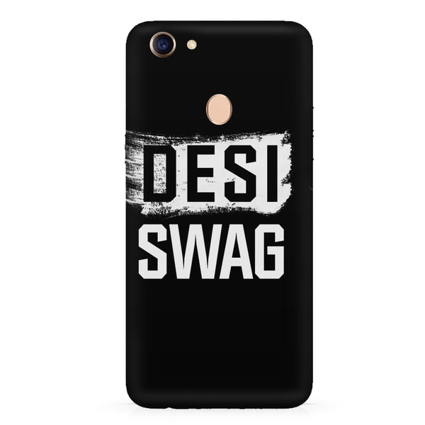Desi Swag Oppo F7 hard plastic all side printed back cover