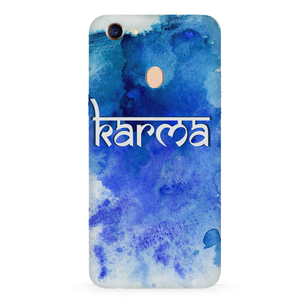 Karma Oppo F7 hard plastic all side printed back cover