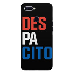 DES PA CITO design Oppo F9 hard plastic printed back cover