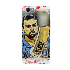 Virat Kohli  design,  Oppo Real Me 1 hard plastic printed back cover