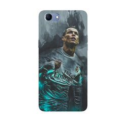 Oil painted ronaldo  design,  Oppo Real Me 1 hard plastic printed back cover