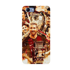Messi  design,  Oppo Real Me 1 hard plastic printed back cover