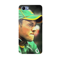 AB de Villiers South Africa  Oppo Real Me 1 hard plastic printed back cover