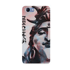Shiva face   Oppo Real Me 1 hard plastic printed back cover