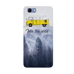 Into the wild for travel Wanderlust people Oppo Real Me 1 hard plastic printed back cover