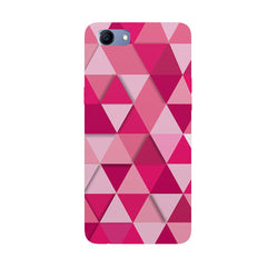 Girly colourful pattern Oppo Real Me 1 hard plastic printed back cover