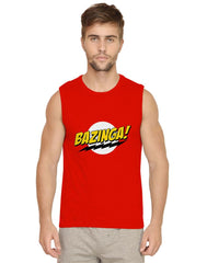 Bazinga, Sheldon design Mens vests