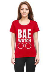 Bae Watch woman round neck tshirts