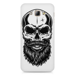 Skull with the beard  design,  Samsung Galaxy E5  printed back cover