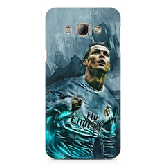 Oil painted ronaldo  design,  Samsung Galaxy E7  printed back cover