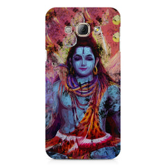 Shiva painted design Samsung Galaxy E5  printed back cover