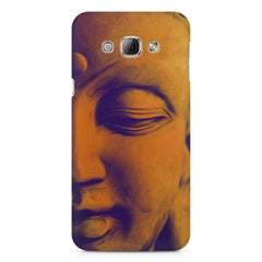 Peaceful Serene Lord Buddha Samsung Galaxy E7  printed back cover
