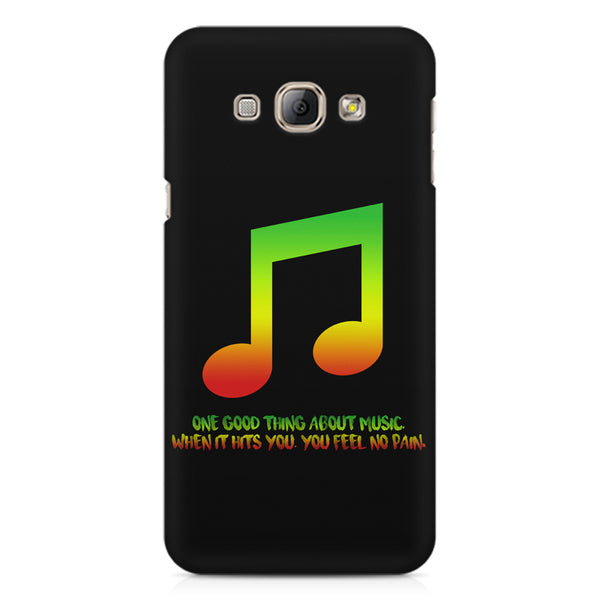 Music quotes  Samsung Galaxy E5  printed back cover