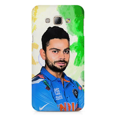 Virat Kohli Oil Painting India design,  Samsung Galaxy E7  printed back cover
