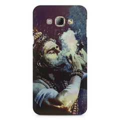 Smoking weed design Samsung Galaxy E7  printed back cover