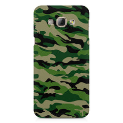 Military design design Samsung Galaxy E7  printed back cover