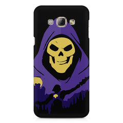 Evil looking skull design Samsung Galaxy E5  printed back cover